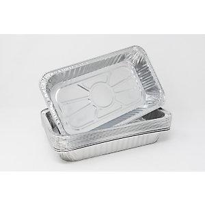 Contenitore in alluminio per alimenti, Formato R11G, 26,5 x 19,5 x 4 cm (confezione 800 pezzi)