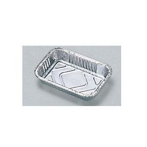 Contenitore in alluminio per alimenti, Formato R2, 16 x 11 x 2,6 cm (confezione 100 pezzi)