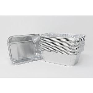Contenitore in alluminio per alimenti, Formato R26G, 15,9 x 10,9 x 4,8 cm (confezione 2.000 pezzi)