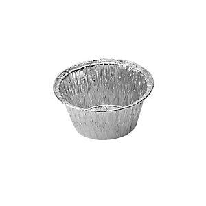 Contenitore in alluminio per alimenti, Formato T8 Crème Caramel, Ø 8,6 x 3,7 cm (confezione 100 pezzi)