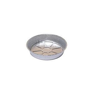 Contenitori in alluminio per alimenti Cuki Professional, Formato C3G, Ø 22,8 x 3,9 cm (confezione 650 pezzi)
