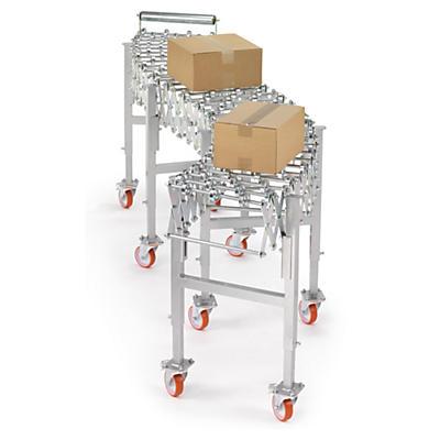 Convoyeur mobile extensible sur roulettes 60 cm