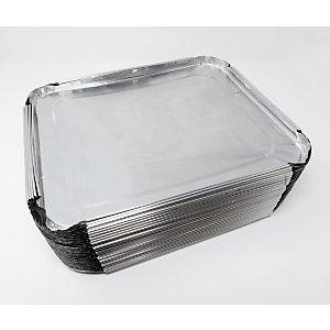 Coperchio in alluminio per vaschetta rettangolare, Formato CR31G, 32,6 x 26,6 x 1,6 cm (confezione 300 pezzi)