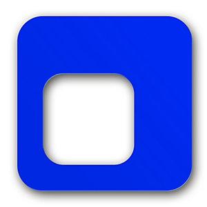 Coperchio per contenitore capacità 100 litri Linea Pure, Blu