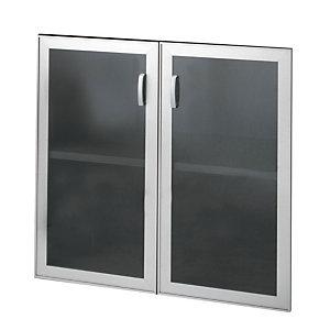 """Coppia ante in vetro per armadio basso a giorno nostri codici 720767 e 719934 """"Linea Exclusive"""" e """"Linea Avantis"""""""