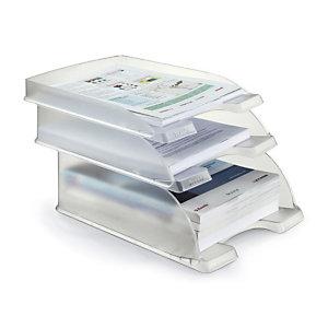 Corbeille à courrier transparent LEITZ