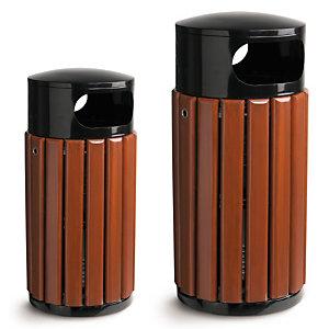 Corbeille d'extérieur bois 40 et 60 litres ROSSIGNOL