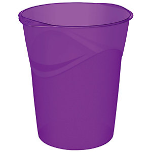 Corbeille Happy violet 14 L