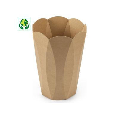 Corbeille à papier en carton 10 l