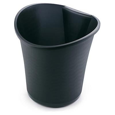 Corbeille à papier en plastique noir 14 l ESSELTE