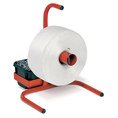 Corded polyester strapping dispensers - freestanding