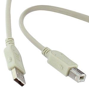Cordon USB 2.0 type AB Longueur 3 m Tech Data