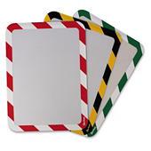 Cornice segnaletica per interni con retro adesivo
