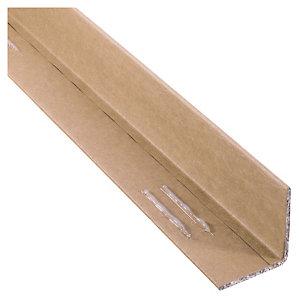 Cornière composite brune adhésive 45x1200 mm