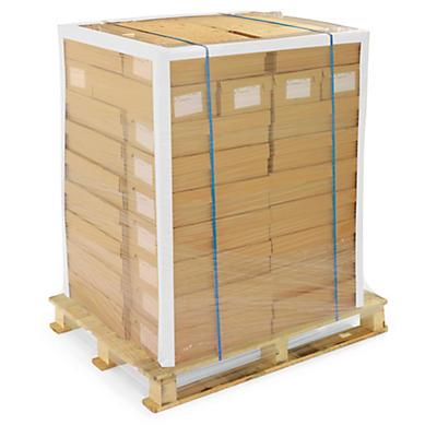Cornière de protection en carton blanche recyclé##Hoekprofiel in gerecycleerd wit karton