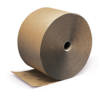 Corrugated cushion wrap book packaging in rolls