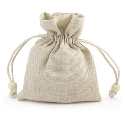 Cotton drawstring gift bags