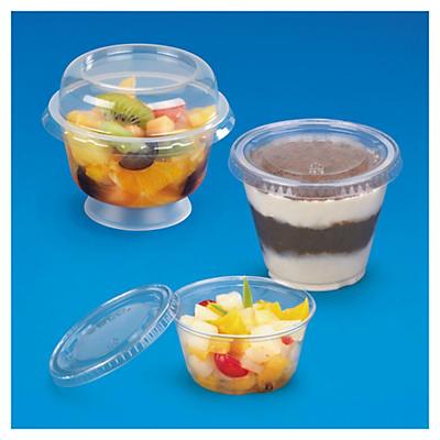 Coupe à dessert plastique