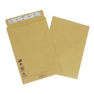 LA COURONNE 50 enveloppes commerciales, kraft, format international C5, 162 x 229 mm, fermeture autocollante