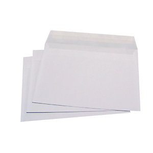 LA COURONNE Enveloppe blanche C5 162 x 229 mm 80g sans fenêtre - bande autoadhésive