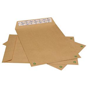 LA COURONNE Enveloppe format international C4 229 x 324 mm 90 g/m² fermeture autocollante kraft blond