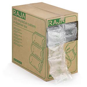 Coussins d'air 50% recyclé en boîte distributrice RAJA