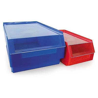 Couvercle anti-poussière transparent pour bac à bec couleur