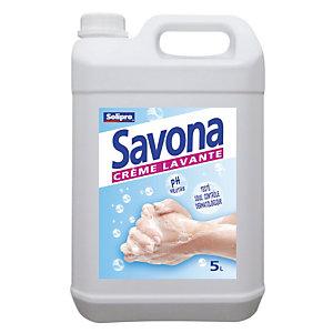 Crème lavante mains Savona, bidon de 5 L