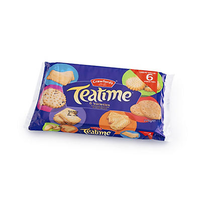 Crawfords Teatime Biscuits - 275g