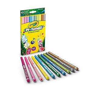 Crayola, Art & craft, Cf10 profumelli - pennarelli puntam, 58-5071
