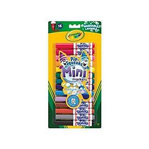 Crayola, Art & craft, Cf14 mini pennarelli lavabili, 8343