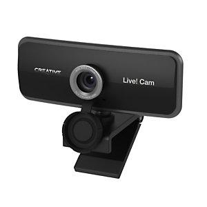 Creative Cámara web Creative Live! Cam Sync de alta definición, 1080p, micrófono dual integrado