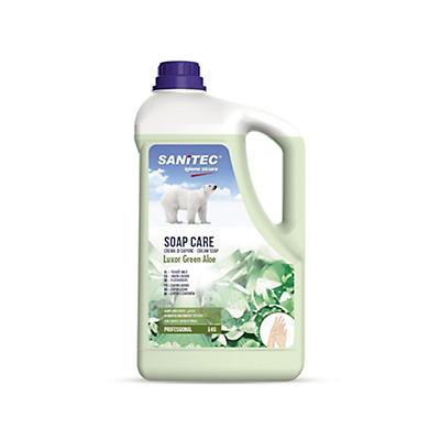 Crema di Sapone profumo Aloe Verde Sanitec Soap Care