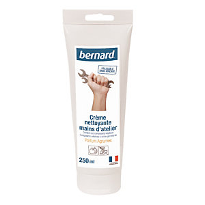 Crème atelier mains Bernard, tube de 250 ml