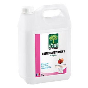 Crème lavante L'arbre vert  5L, parfum pêche