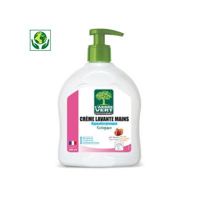 Crème lavante mains en flacon L'ARBRE VERT