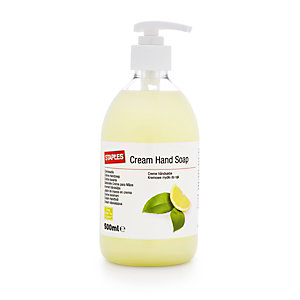 Crème lavante pour les mains, parfum Thé vert et citron - Flacon-pompe de 500 ml