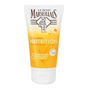 Crème mains nourrissante Le Petit Marseillais, flacon de 75 ml