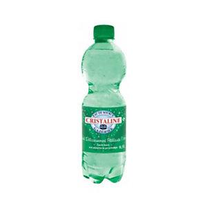 CRISTALINE Eau de source naturelle gazeuse - bouteille 50 cl