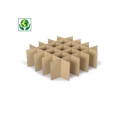 Croisillon carton pour verre, bouteilles et déménagement