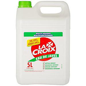 La Croix Eau de javel Multi-usages parfum frais - Bidon 5 L