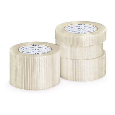 Cross woven filament tape