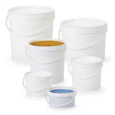 Cubo de plástico con tapa JOKEY