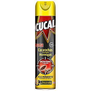 Cucal Instantáneo Spray Insecticida contra Cucarachas y Hormigas, 400 ml