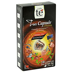 Cuida té Frutas del Bosque Té en cápsulas, 10 dosis, 30 g