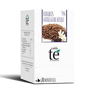 Cuida té Frutas del Bosque y Vainilla Infusión rooibos, 20 bolsitas, 50 g