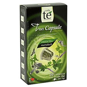 Cuida té Marrakesch Té verde en cápsulas, 10 dosis, 30 g