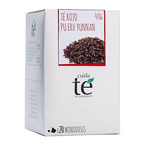 Cuida té Pu-Erh Té rojo, 20 bolsitas, 50 g