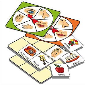 CULTURE CLUB Atelier d'activité basé sur la connaissance des 5 sens, pour 1 à 5 joueurs de 3 à 7 ans