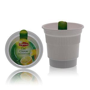 cupéo Gobelets operculés pré-dosés- Thé Lipton citron sucré
